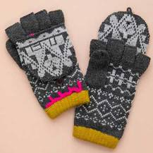 399:- Grey Gloves