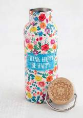 299:- Think Happy Be Happy Water bottle