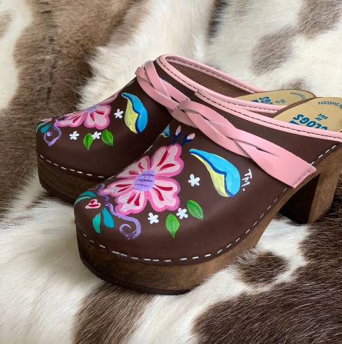 Brown Oil Petra Ultimate High Clogs