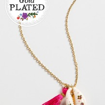 399:-Pink Seaside Necklace