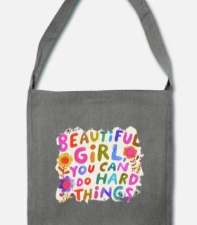 """299:- """"Beautiful girl"""" bag"""