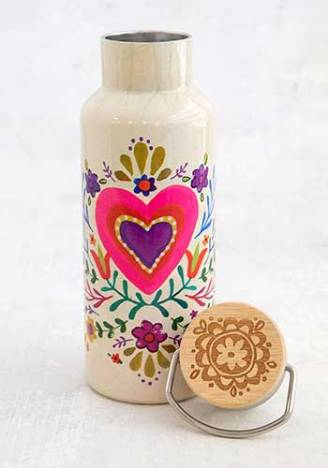 299:-Heart Traveler Water Bottle