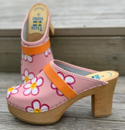 Pink Cissi Ultimate High Clogs