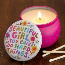 149:- Soy candle small Beautiful girl..