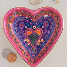 159:- Heart Dish