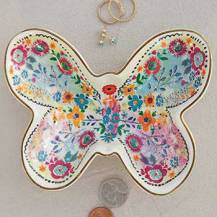 159:- Butterfly Dish
