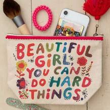 199:-Canvas Pouch Beautiful Girl
