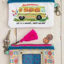 149:-Life Is A Journey ID Pouch