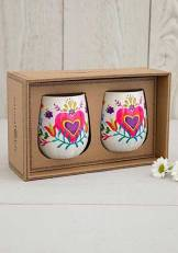 399:-Set of 2 Wine Tumblers
